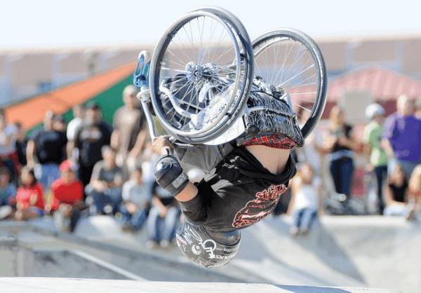 A adaptive athlete